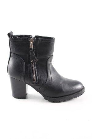 Peep Toe Pumps black casual look