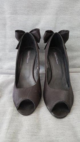Peeptoe-Pumps schwarz Größe 38 Görtz Shoes