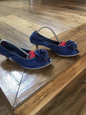 MARC art of walking Escarpins à bout ouvert bleu