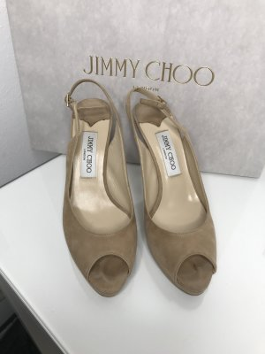 Peeptoe Slingbacks Jimmy Choo