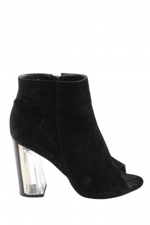 simmi london Peeptoe-Stiefeletten schwarz Business-Look