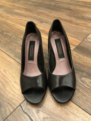Graceland Peep Toe Pumps zwart