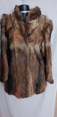 Pelz-Jacke aus echtem Wolfspelz Gr.40