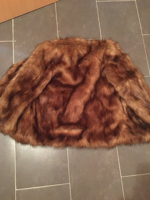 Pelz Jacke kein echt Pelz