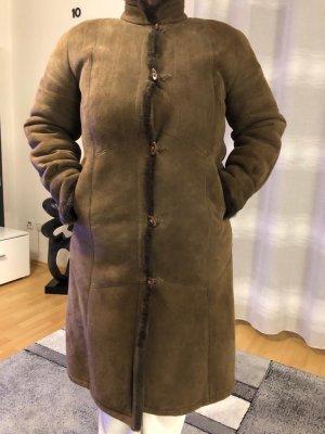 2117 of Sweden Pelt Coat brown