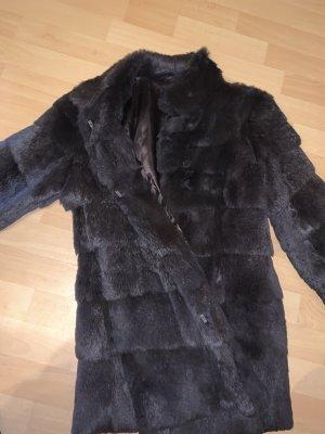 Milestone Pelt Coat dark brown