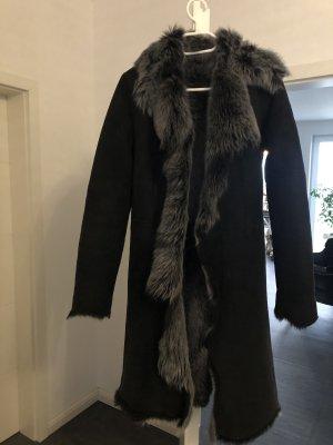 Pelz Mantel aus uk
