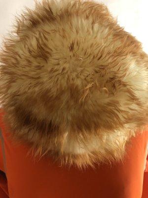Sombrero de piel coñac