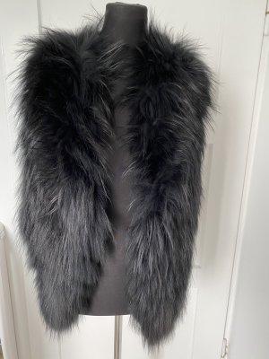 Amor&Grace Fur vest black pelt