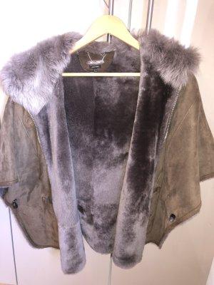 Massimo Dutti Fur vest multicolored
