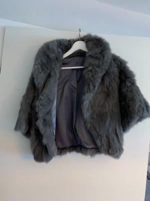 Fur Jacket grey pelt