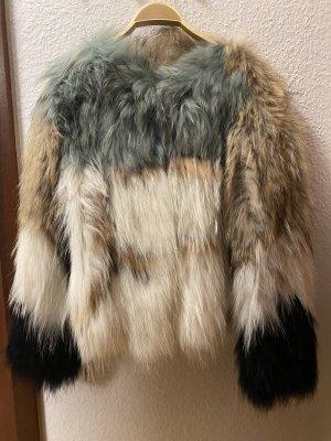 Twin set Pelt Jacket multicolored pelt