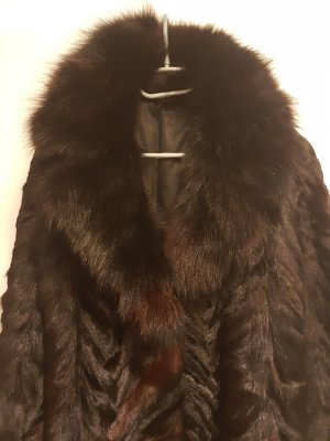 Pelt Jacket black-dark brown