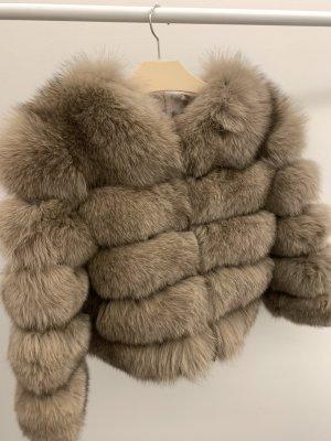 Pelt Jacket grey brown-beige