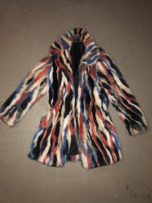 Amaryllis Fake Fur Jacket multicolored