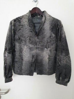 andere Marke Pelt Jacket silver-colored-grey