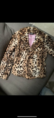Thes & Thes Pelt Jacket rose-gold-coloured