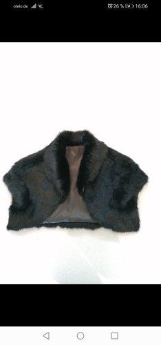 no name Giacca in pelliccia nero