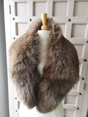 Pelzkragen Fuchs Pelz Real Fur