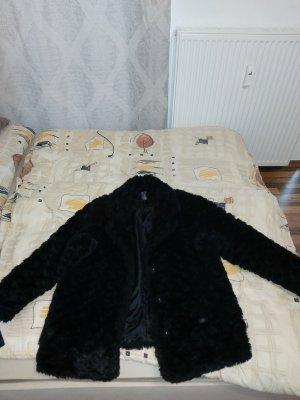 Primark Giacca in pelliccia nero