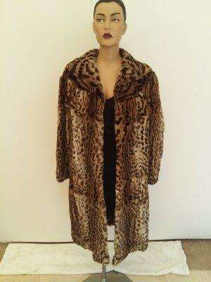 Fur Jacket dark brown