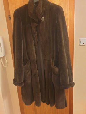 Kürschner Pelt Coat dark brown