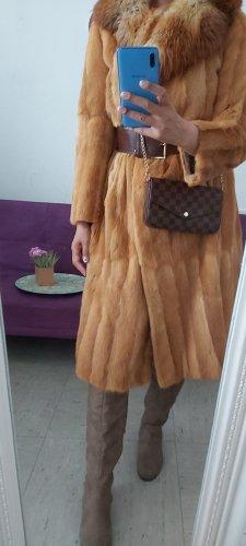 Vintage Pelt Coat sand brown-camel