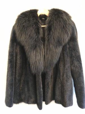 Pelt Jacket dark blue pelt