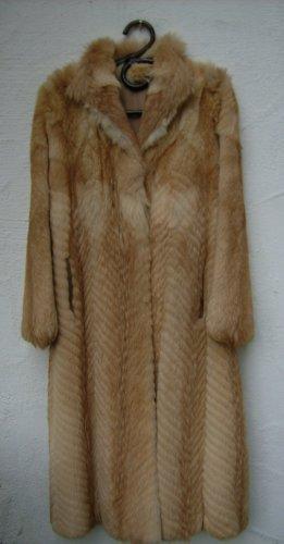 Abrigo de piel camel Pelaje