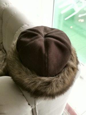 Futrzana czapka Wielokolorowy