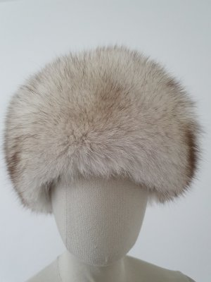 Fur Hat light grey