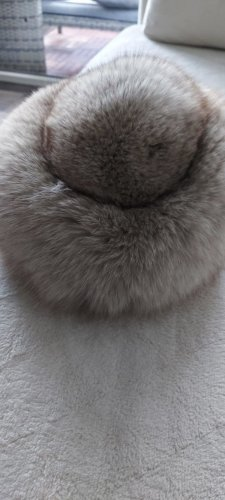 Pelzladen Fur Hat light grey