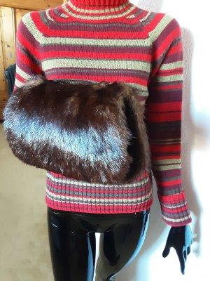 Fur Gloves brown fur