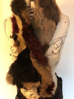 Drykorn Gebreide sjaal veelkleurig