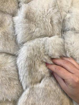 Pelzweste Silberfuchs Weste Pelz Fell