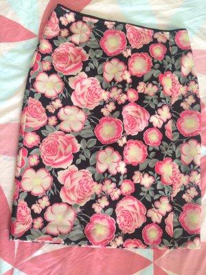Baum und Pferdgarten Pencil Skirt black-pink
