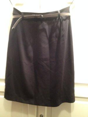 Apart Ołówkowa spódnica czarny Tkanina z mieszanych włókien
