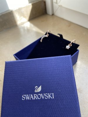 Swarovski Dangle rose-gold-coloured-white