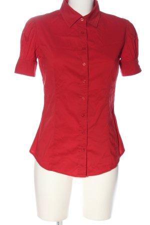 Penélope & Mónica Cruz for MNG Short Sleeve Shirt red business style