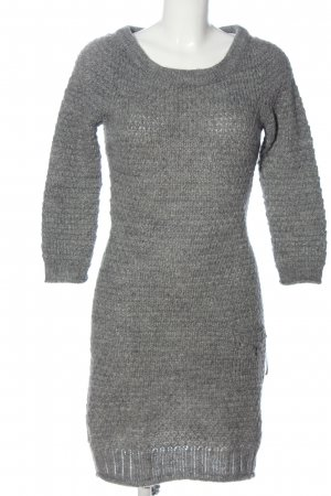 Penélope & Mónica Cruz for MNG Sweater Dress light grey casual look