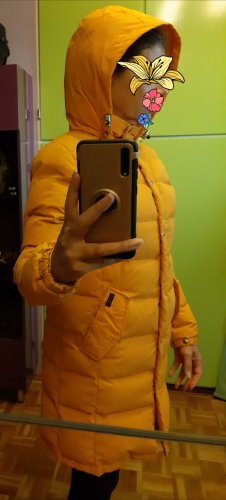 Penfield Down Coat yellow