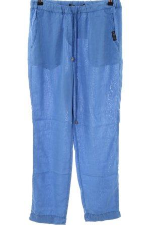 Penn & Ink Stoffhose blau Casual-Look