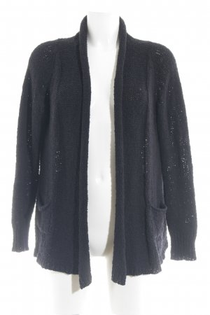 Penn & Ink Strick Cardigan schwarz Street-Fashion-Look