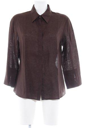 Pennyblack Hemd-Bluse dunkelbraun Casual-Look