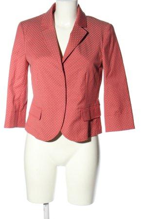 Pennyblack Korte blazer rood-room volledige print zakelijke stijl