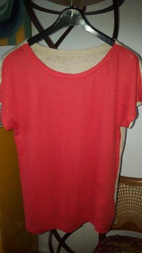 Pennyblack Leinen Shirt Gr.42 (D) orange / beige *top*