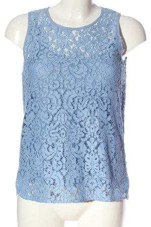 Pennyblack Top di merletto blu stile casual