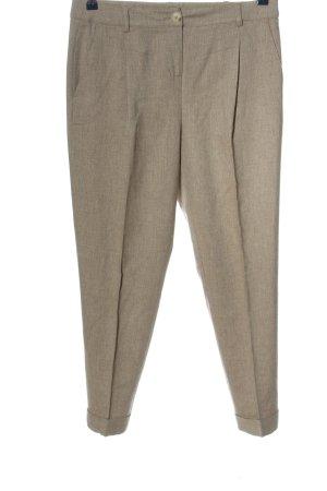 Pennyblack Jersey Pants brown weave pattern business style