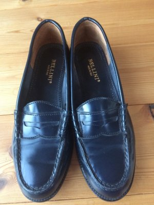 BELLINI Zapatos estilo Oxford azul oscuro-azul Cuero