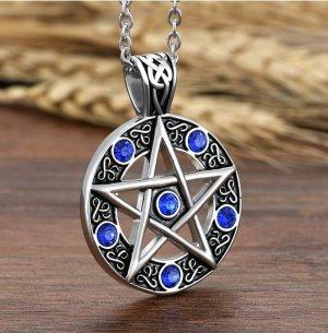 SmD Medaglione argento-blu
